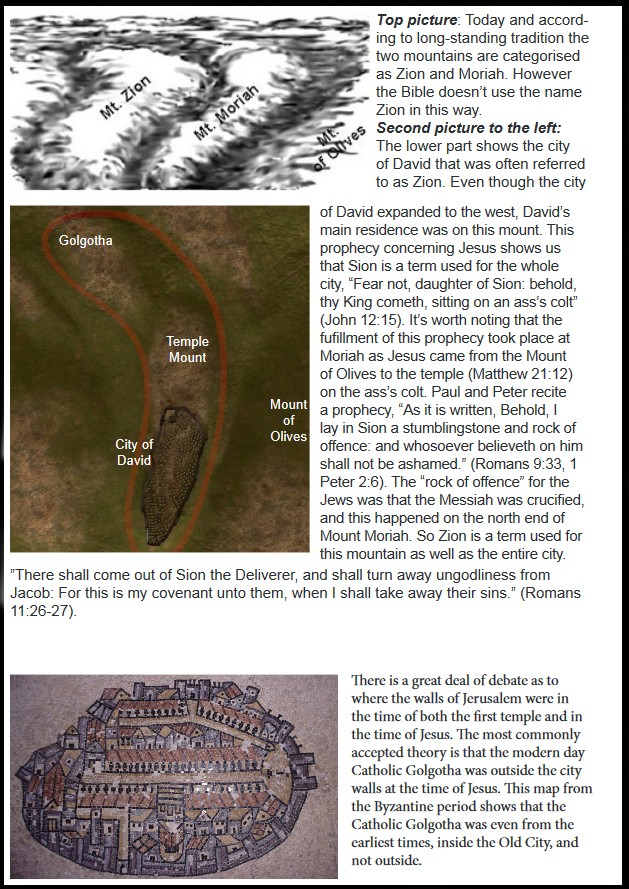 THE ARK AND THE MOUNT OF JUSTICE – Arkfiles.net Zion Jesus Time Map on map of asia in the time of christ, israel during jesus' time, map of israel at time of christ, map paul's time, map jerusalem time of christ,